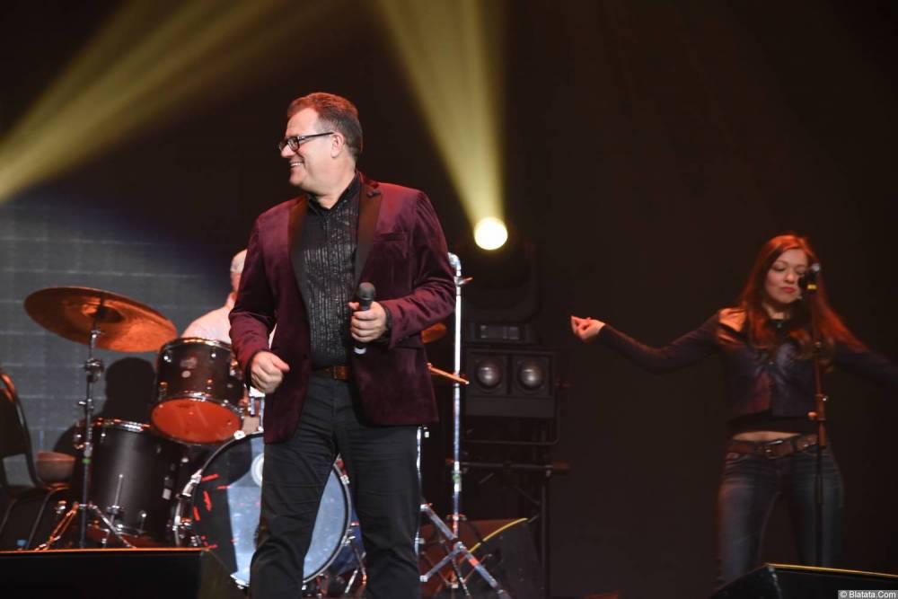 Виктор Баум на концерте 26 февраля 2018 года