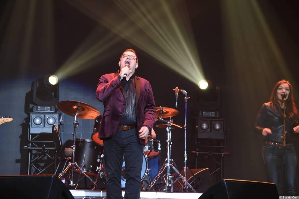 Виктор Баум на концерте в Санкт-Петербурге 26 февраля 2018 года