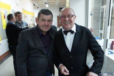 Алексей Авдеев и Евгений Любимцев на концерте 21 января 2015 года