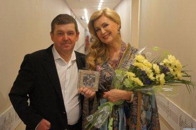 Вика Цыганова и Евгений Любимцев на XX-м фестивале памяти Аркадия Северного