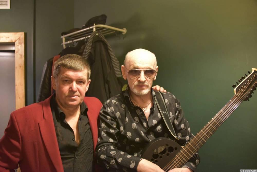 Григорий Заречный и Евгений Любимцев на концерте Новое и лучшее 30 ноября 2015 года