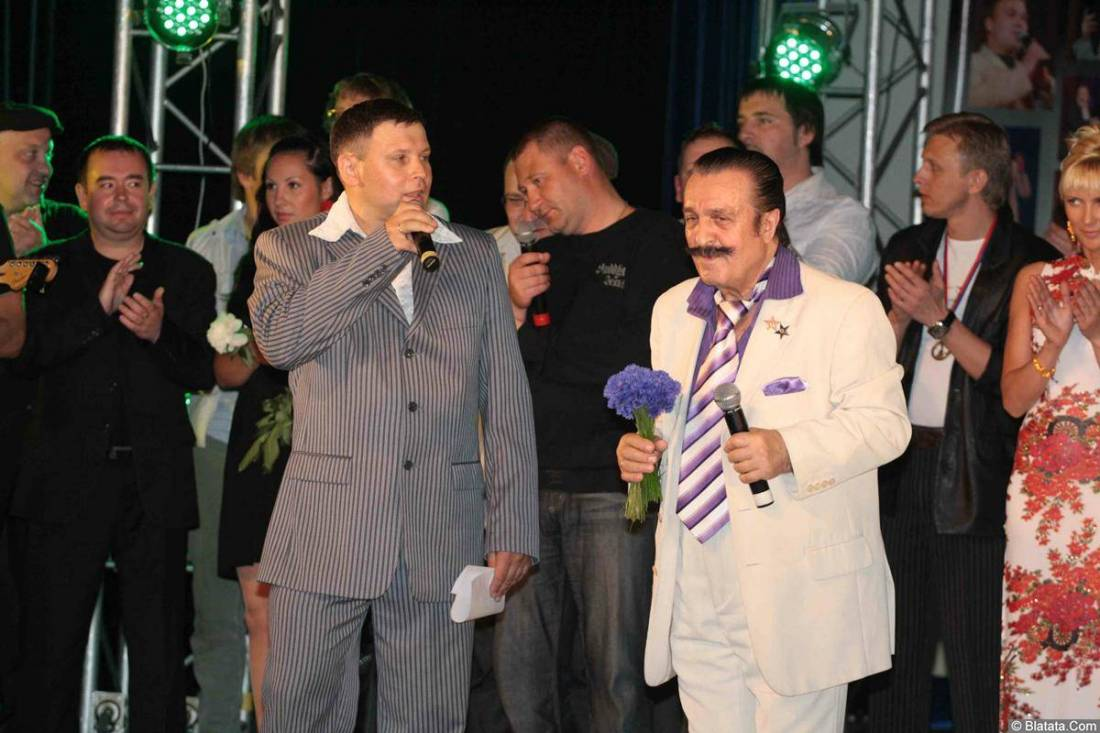 Вилли Токарев на фестивале Хорошая песня 20